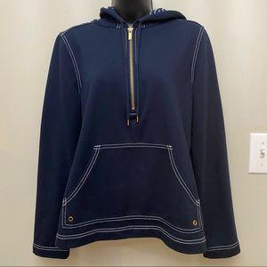 Jones Of New York Nautical Hoodie Sweatshirt
